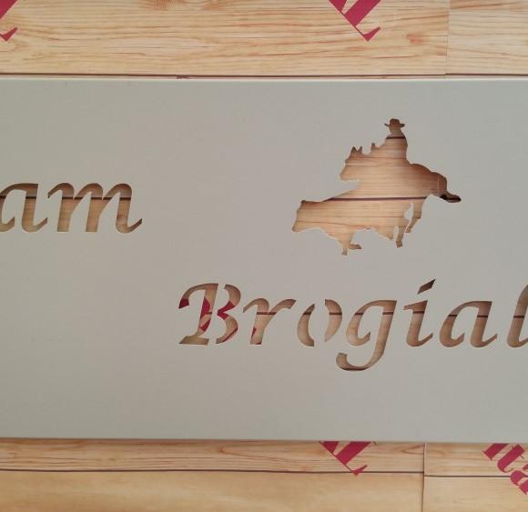 Insegna Team Brogialdi